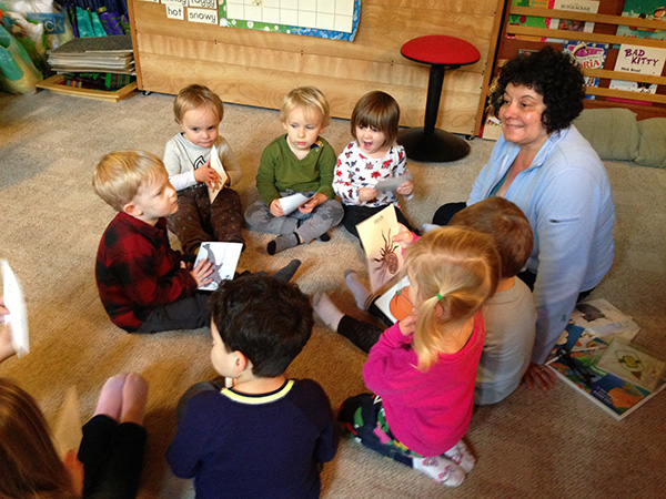 Roxanne Gonsorowski provides in-home daycare and classroom instruction